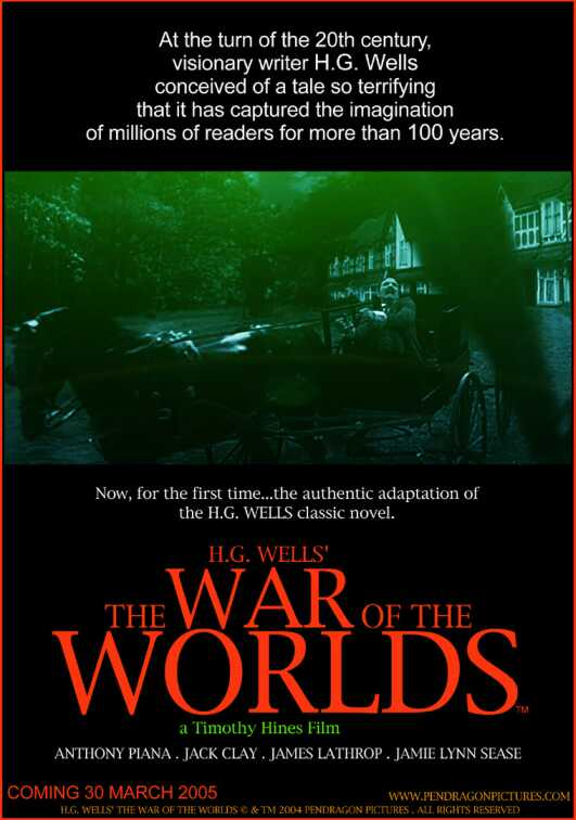 war of the worlds 2005 poster. Here are the posters for the 2